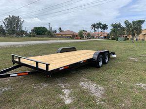 Utility trailer 7x20 Car Trailer BRAND NEW 2020 Polaris canam SXS for Sale in Miami Gardens, FL
