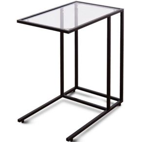 Sofa End Table Coffee Side Table with Glass Top for Sale in Los Angeles, CA