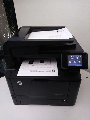 Laser Printer Hp LaserJet PRO 400 MFP M425dn DUPLEX/NETWORK TOUCH SCREEN Multifunctional for Sale in Phoenix, AZ