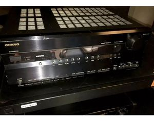 ONKYO AV RECEIVER AMPLIFIER HDMI TX-SR605 for Sale in Oakland, CA