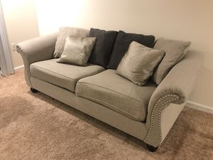 ASHLEY SOFA FOR SALE! MOVING MONDAY! MUST GO! for Sale in Dunlap, IL