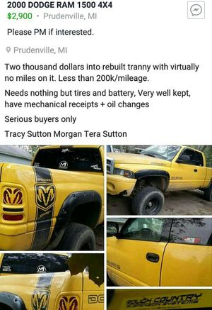 Dodge Ram 1500 Quad Cab Lifted for Sale in Prudenville, MI