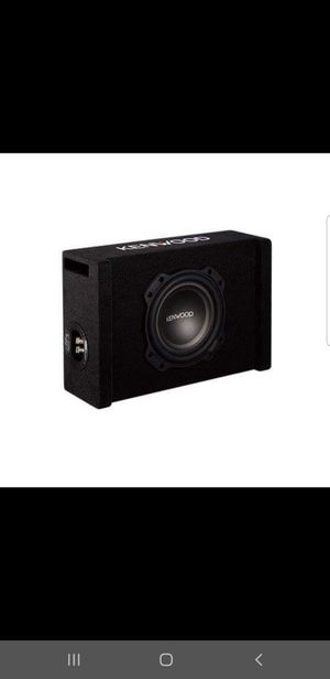 Kenwood subwoofer with box for Sale in San Diego, CA
