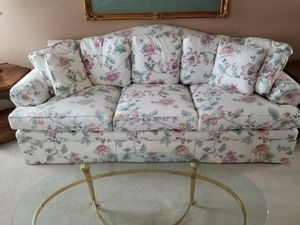 Sofa (Camel back style) from Ethan Allen for Sale in Pleasanton, CA
