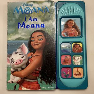 Disney Moana Sound Board Book I Am Moana for Sale in Downey, CA