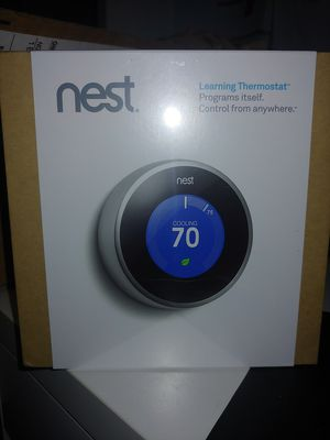 Nest Learning Thermostat for Sale in Dallas, TX