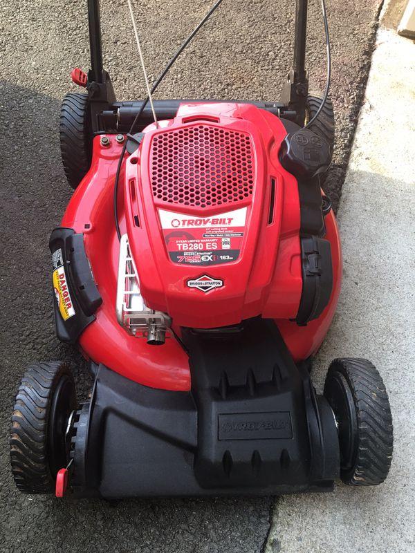 Troy Bilt 163CC self propelled lawn mower