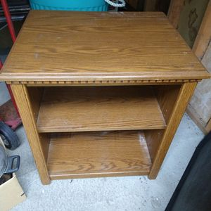 Wood Tv stand/Shelf for Sale in Bothell, WA