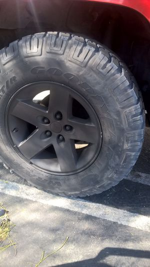 Jeep $16 rubicon rims trade for Sale in Montclair, CA