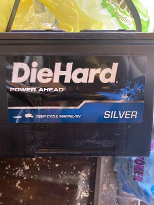 3 deep cycle batteries brand new. Marine/Rv for Sale in Hialeah, FL