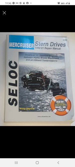 Seloc Mercruiser Stern Drives 1992-01 for Sale in Denver, CO