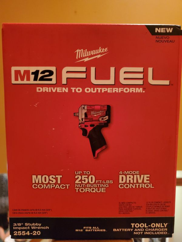 Milwaukee M12 FUEL 12-Volt Lithium-Ion Brushless Cordless Stubby 3/8 in. Impact Wrench (Tool-Only)firm price