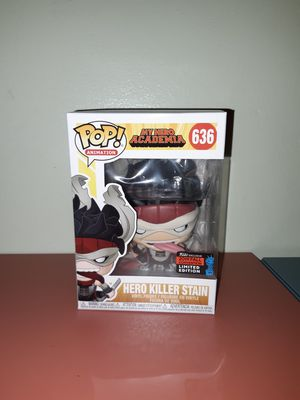 Funko Pop: Hero Killer Stain for Sale in E RNCHO DMNGZ, CA