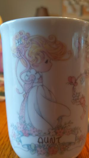 Precious Moments Personalized Aunt Mug for Sale in Monroeville, PA