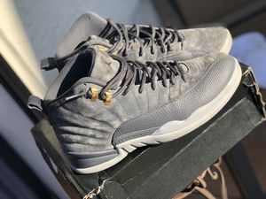 Jordan 12 dark grey for Sale in Margate, FL