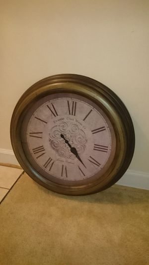 Large wall clock $40 for Sale in Arlington, VA