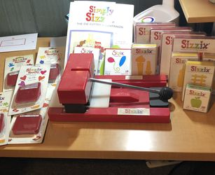 Sizzix Die Cut Machine And Assorted Dies for Sale in Glenside,  PA
