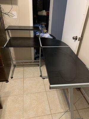 BHG L Shape Computer Desk with Slide-Out Keyboard for Sale in Laurel, MD
