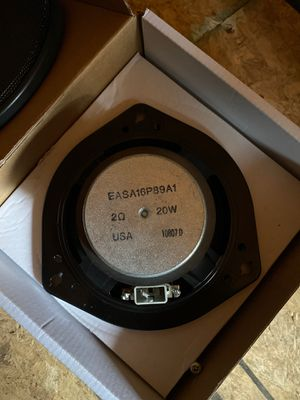 07-08 Acura TL type s Bose sound system door speakers for Sale in Oregon City, OR