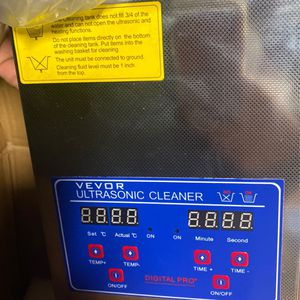 Ultrasonic Cleaner $50 for Sale in Colton, CA