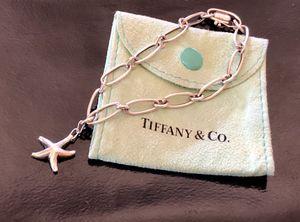 "Authentic! Rare Tiffany & Co. 925 silver Elsa Peretti 7"" oval link starfish bracelet. for Sale in Tolleson, AZ"
