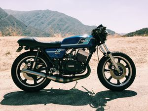 1977 Yamaha RD 400 cafe racer for Sale in Glendora, CA
