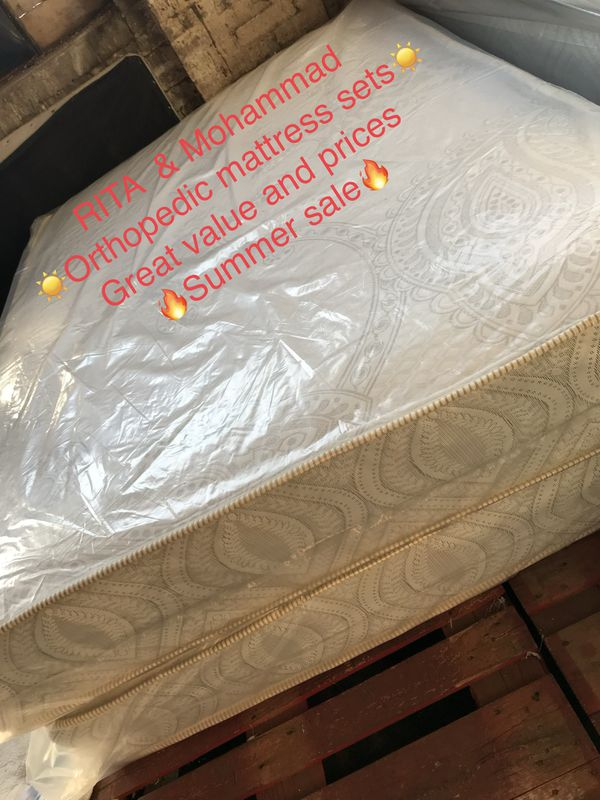 ORTHOPEDIC MATTRESS SETS