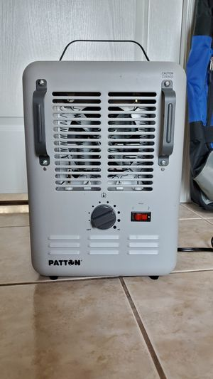Patton PUH680 Utility 1500W Milkhouse Space Heater for Garage Workshop Camping for Sale in Beverly Hills, FL