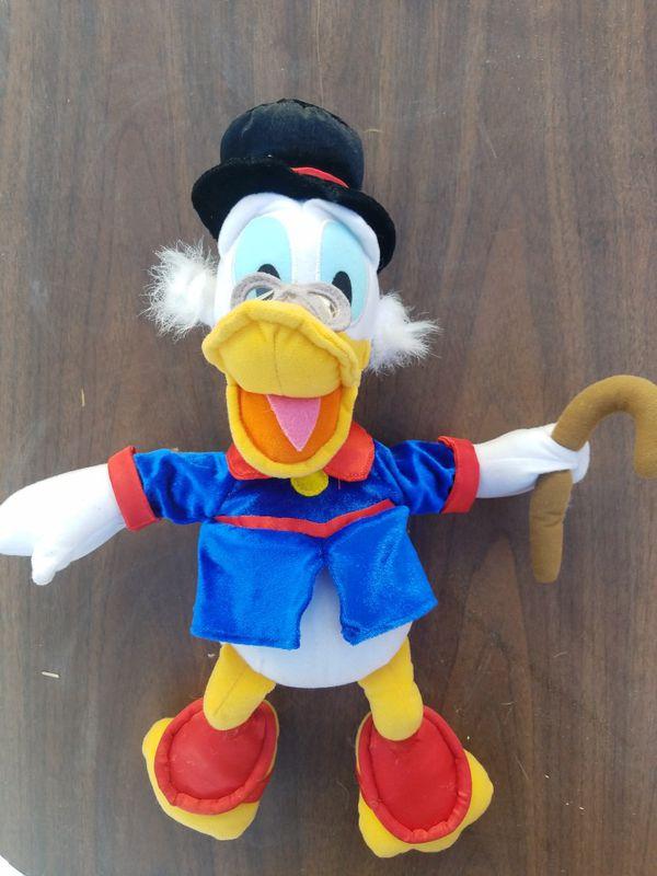 Scrooge Mcduck plush figure toy