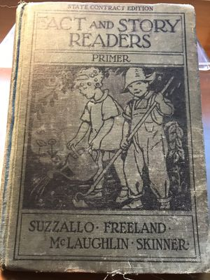 Antique Fact And Story Readers book for Sale in Silver Spring, MD