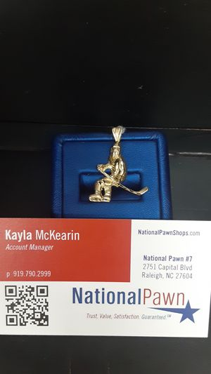 Hockey Pendant 14kt for Sale in Raleigh, NC