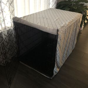 """XL 42"""" Dog Crate with Cover for Sale in Morgan Hill, CA"""