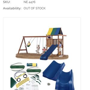 Wrangler Deluxe Play Set Hardware Kit With Slide for Sale in San Diego, CA