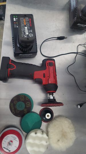 Snap on polisher sander 14.4 volt for Sale in Merced, CA
