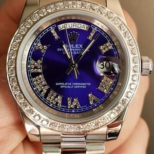 Watch Automatic White 18k Blue for Sale in Santa Rosa, CA