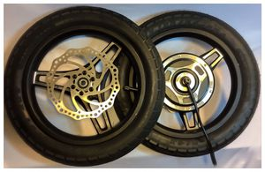"14"" 500w 48v Brushless Electric Hub Motor and Front Tire for Sale in Beverly Hills, CA"