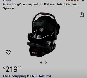 Graco infant car seat for Sale in Houston, TX