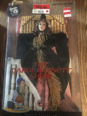 2008 Pink Label Carol Burnett Show WEST WITH THE WIND Mattel Barbie Doll #N4986 for Sale in The Woodlands, TX