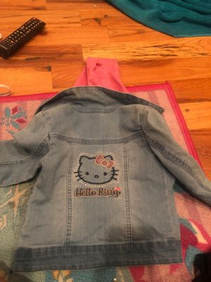 3t hello kitty jean jacket for Sale in Lakewood, CO