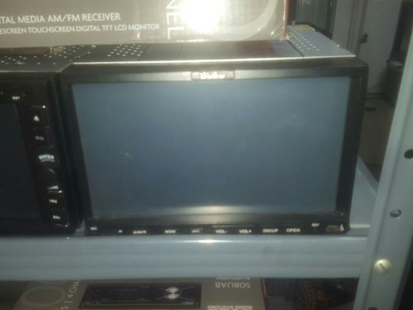 Used double din touchscreen tv with bluetooth