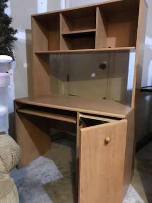 Desk with Bookshelves for Sale in Austin, TX