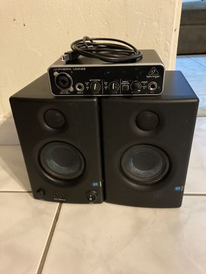 Studio Monitor Presonus E3.5 and Interface for Sale in Margate, FL