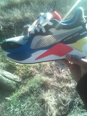 SIZE 8 PUMA RS-X3 PUZZLE MEN'S SNEAKER for Sale in Washington, DC