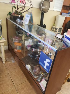 Salon chair,shampoo bowl, desk pedicures stool, mats stations for Sale in South Gate, CA