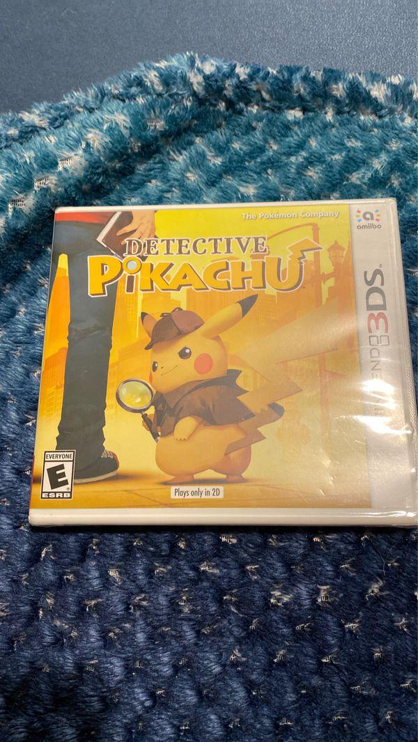 Detective Pikachu Nintendo 3DS game (Hasn't been opened)