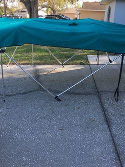 Damaged Bimini Top With Aluminum Frame for Sale in Lakeland,  FL