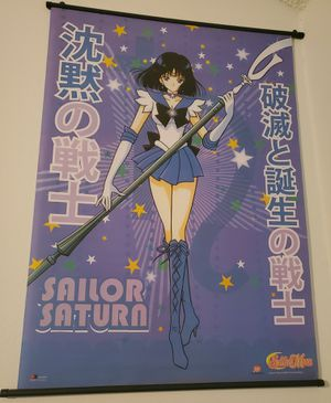 Sailor Saturn Wall Scroll Sailor Moon for Sale in San Antonio, TX