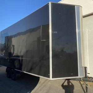 2020 Custom 22' Enclosed Dual Axle Trailer - CAN Pallet Hauler for Sale in Fontana, CA