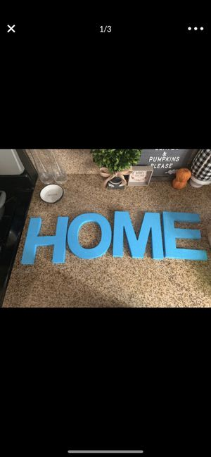"HOME Wooden Letters 8"" for Sale in San Bernardino, CA"