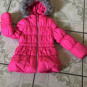 LIKE NEW 3T Toddler Girl Winter Jacket for Sale in Riverside, CA